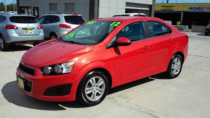 2012 Chevrolet Sonic Lt 4dr Sedan W2lt In Milwaukee Wi Gs Auto