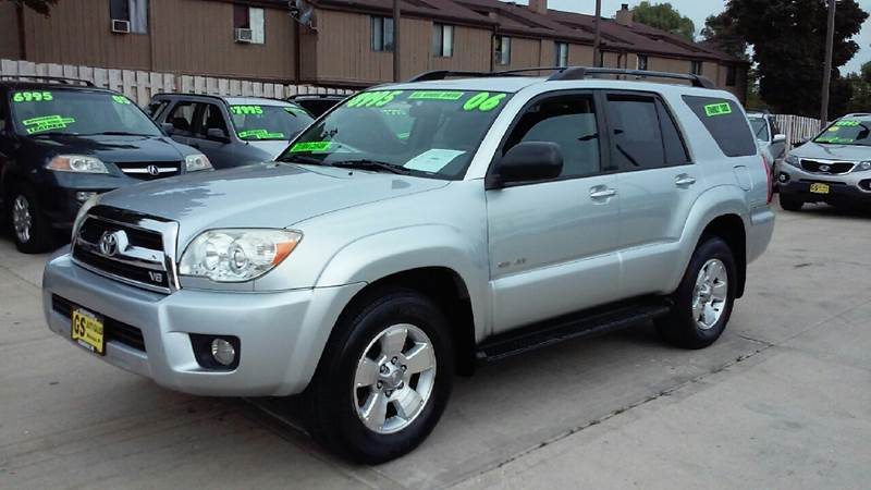2006 Toyota 4runner Sr5 4dr Suv 4wd W V8 In Milwaukee Wi Gs Auto