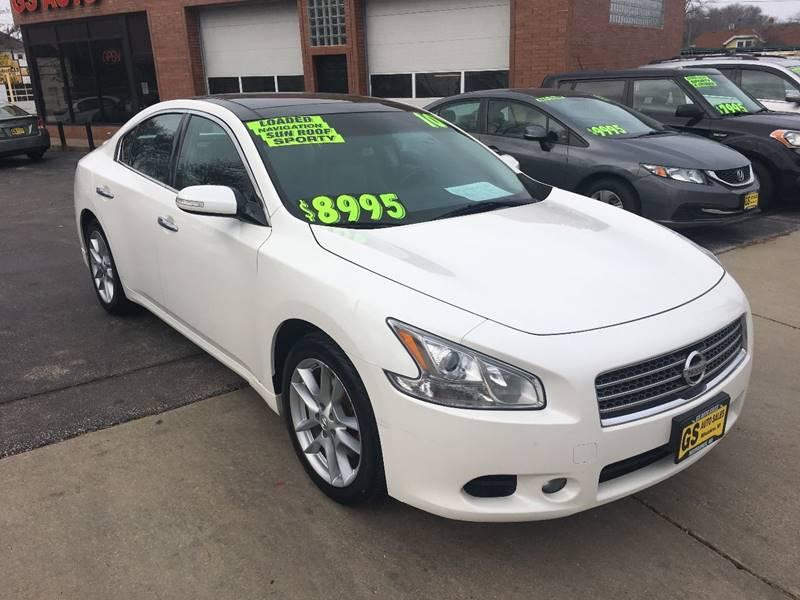 2010 nissan maxima 3 5 sv 4dr sedan in milwaukee wi gs. Black Bedroom Furniture Sets. Home Design Ideas