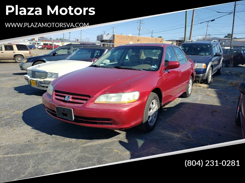 2002 Honda Accord EX (image 1)