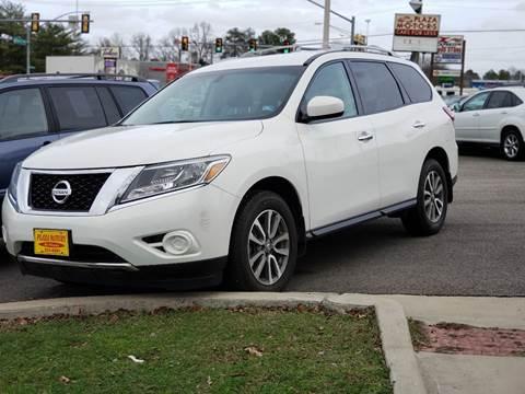 2013 Nissan Pathfinder S for sale at Plaza Motors in Richmond VA