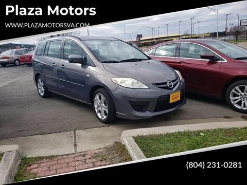 2008 Mazda MAZDA5 for sale at Plaza Motors in Richmond VA