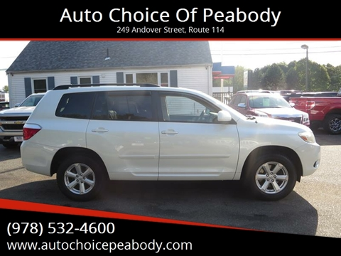 2009 Toyota Highlander for sale in Peabody, MA