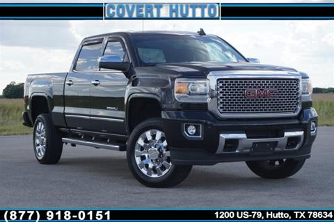 2016 GMC Sierra 2500HD for sale in Hutto, TX
