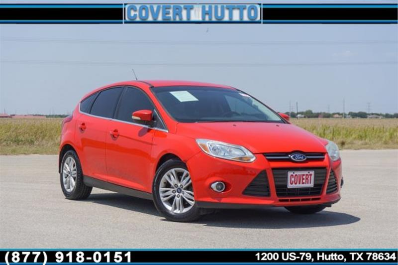 2012 ford focus sel in hutto tx covert hutto