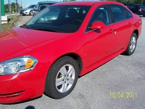 2010 Chevrolet Impala for sale at GREENWOOD DAEWOO in Greenwood SC