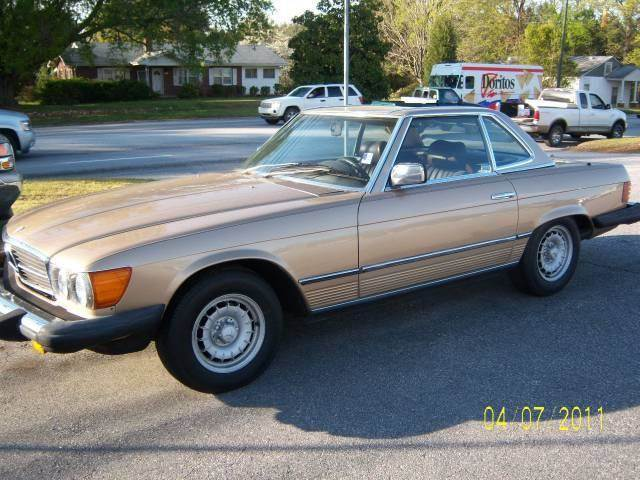 1982 Mercedes-Benz 380-Class for sale at GREENWOOD DAEWOO in Greenwood SC