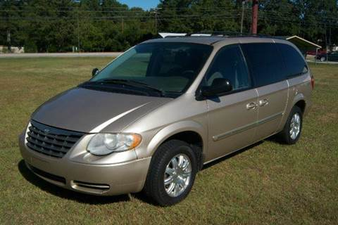 Town And Country Greenwood Sc >> 2006 Chrysler Town And Country Touring 4dr Extended Mini Van