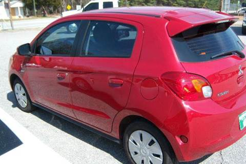 2014 Mitsubishi Mirage for sale at GREENWOOD DAEWOO in Greenwood SC