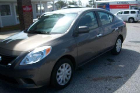 2013 Nissan Versa for sale at GREENWOOD DAEWOO in Greenwood SC