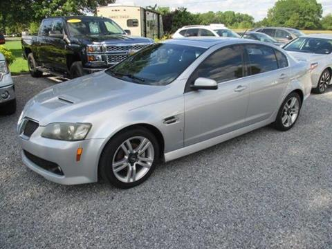 2009 Pontiac G8 for sale in Crossville, AL