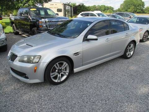 2009 Pontiac G8 for sale in Crossville, AL