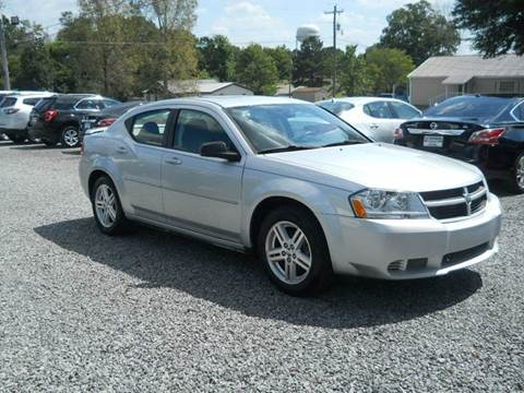 2008 Dodge Avenger for sale at G. B. ENTERPRISES LLC in Crossville AL