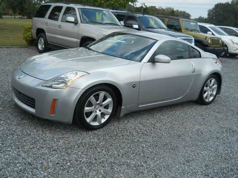 2003 Nissan 350Z for sale at G. B. ENTERPRISES LLC in Crossville AL