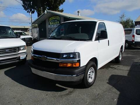 2018 Chevrolet Express Cargo for sale in Seattle, WA