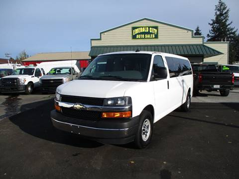 2017 Chevrolet Express Passenger for sale in Seattle, WA