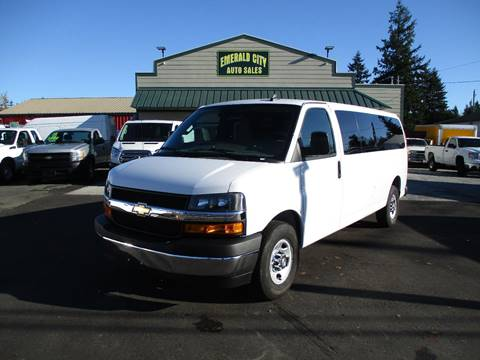 2019 Chevrolet Express Passenger for sale in Seattle, WA