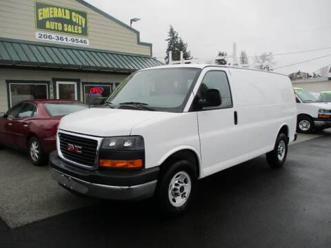 2015 GMC Savana Cargo 2500 for sale at Emerald City Auto Inc. in Seattle WA