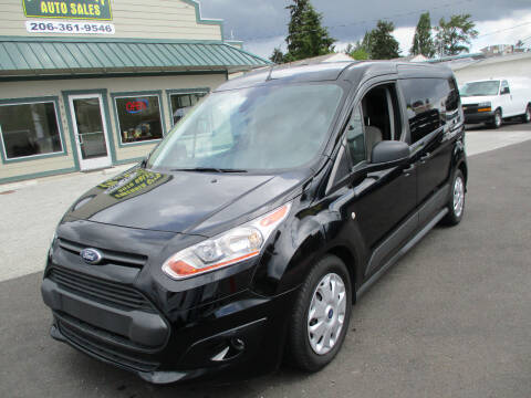 2016 Ford Transit Connect Cargo XLT for sale at Emerald City Auto Inc. in Seattle WA