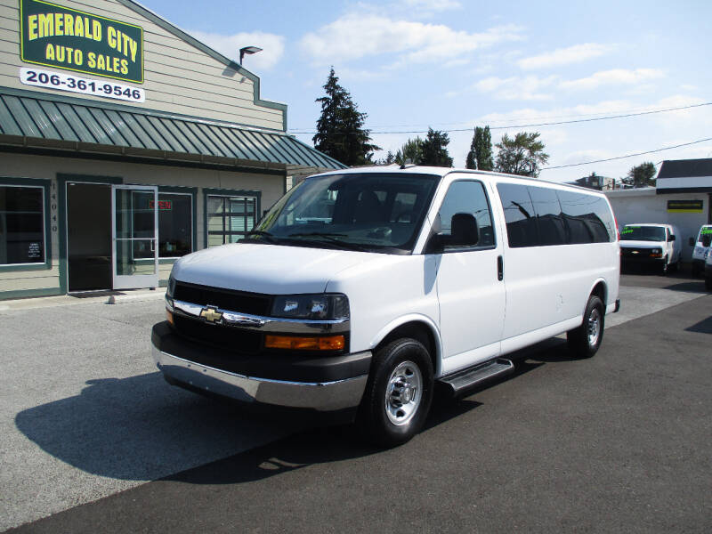 2019 Chevrolet Express Passenger for sale at Emerald City Auto Inc. in Seattle WA