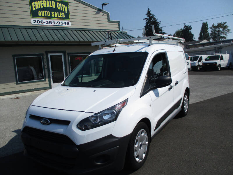 2015 Ford Transit Connect Cargo for sale at Emerald City Auto Inc. in Seattle WA
