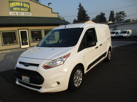 2017 Ford Transit Connect Cargo for sale at Emerald City Auto Inc. in Seattle WA