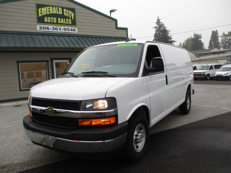 2019 Chevrolet Express Cargo for sale at Emerald City Auto Inc. in Seattle WA