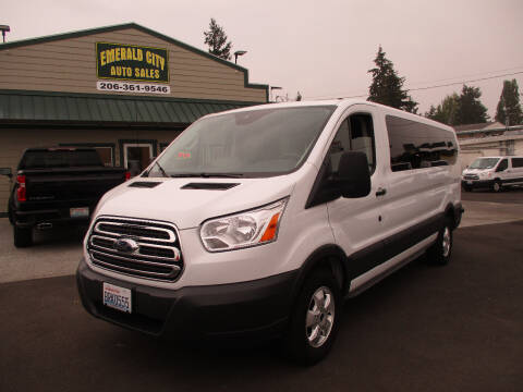 2018 Ford Transit Passenger for sale at Emerald City Auto Inc. in Seattle WA
