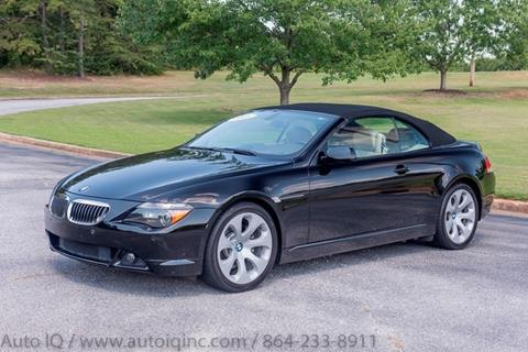 Bmw Greenville Sc >> Used Bmw 6 Series For Sale In Greenville Sc Carsforsale Com