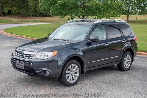 Subaru Greenville Sc >> 2011 Subaru Forester For Sale In Greenville Sc