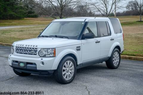 2013 Land Rover LR4 HSE for sale at AUTO IQ Inc. in Greenville SC