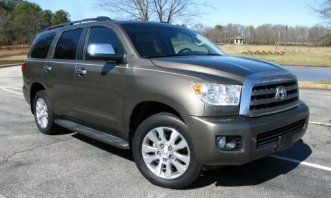 2013 Toyota Sequoia Limited for sale at AUTO IQ Inc. in Greenville SC