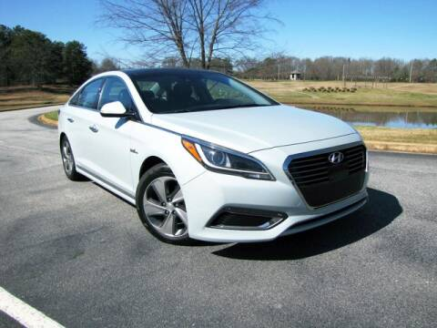 2016 Hyundai Sonata Hybrid for sale at AUTO IQ Inc. in Greenville SC