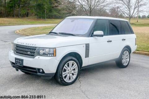 2011 Land Rover Range Rover HSE for sale at AUTO IQ Inc. in Greenville SC