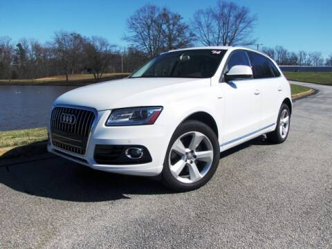 2014 Audi Q5 Hybrid 2.0T quattro Prestige for sale at AUTO IQ Inc. in Greenville SC