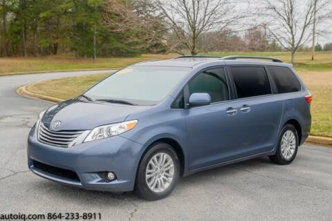 2017 Toyota Sienna for sale at AUTO IQ Inc. in Greenville SC