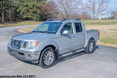 2009 Nissan Frontier for sale at AUTO IQ Inc. in Greenville SC
