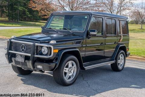 2004 Mercedes-Benz G-Class G 500 for sale at AUTO IQ Inc. in Greenville SC