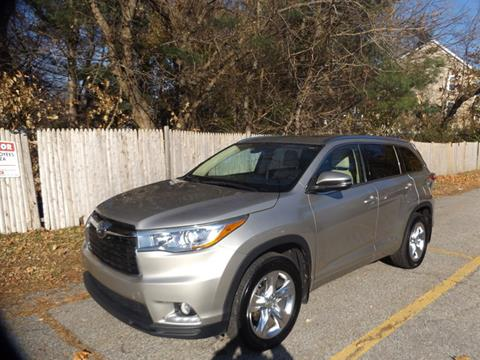 2015 Toyota Highlander for sale at Wayland Automotive in Wayland MA