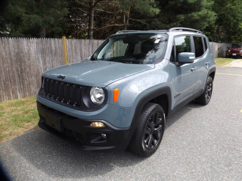 2018 Jeep Renegade for sale at Wayland Automotive in Wayland MA