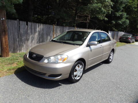 2007 Toyota Corolla for sale at Wayland Automotive in Wayland MA