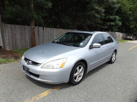 2003 Honda Accord for sale at Wayland Automotive in Wayland MA