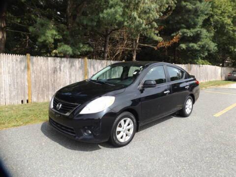 2013 Nissan Versa for sale at Wayland Automotive in Wayland MA