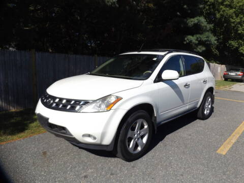 2005 Nissan Murano for sale at Wayland Automotive in Wayland MA