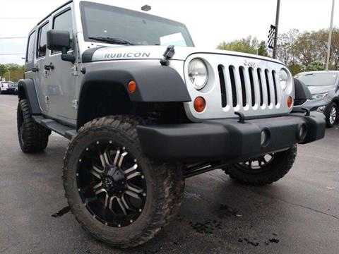 2009 Jeep Wrangler Unlimited for sale in Channahon, IL
