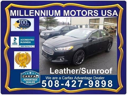 2014 Ford Fusion for sale in Brockton, MA