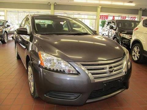 2013 Nissan Sentra for sale in Brockton MA