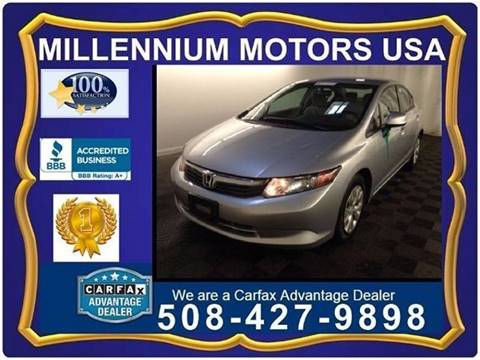 2012 Honda Civic for sale in Brockton MA