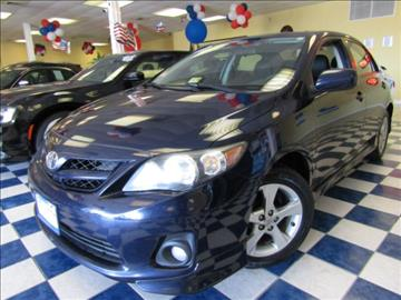 2011 Toyota Corolla for sale at Manassas Automobile Gallery in Manassas VA