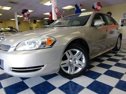 2012 Chevrolet Impala for sale at Manassas Automobile Gallery in Manassas VA
